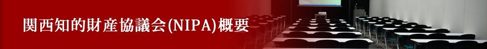 関西知的財産協議会(NIPA)概要